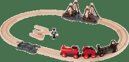 BRIO Vláčkodráha s parnou lokomotívou