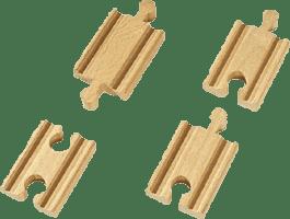BRIO Mini koleje rovné, spojky, 54 mm, 4 ks