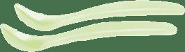 SUAVINEX łyżeczka 2szt. Zielone