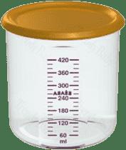 BEABA Pojemnik na jedzenie 500 ml, pomarańczowy