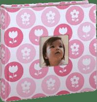 PEARHEAD Detské fotoalbum ružové (200 foto)