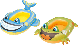 BESTWAY Nafukovací čln zvieratko (žaba / ryba)
