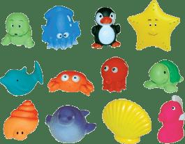 LUDI Sada do kúpeľa Morské zvieratká