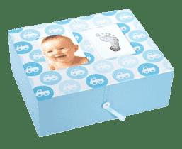 PEARHEAD Krabička na vzpomínky modrá (2014)