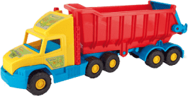 WADER Auto Super Truck sklápač plast 75 cm v sieťke 1+ rok