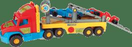 WADER Super truck s formulí F1