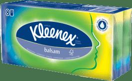 KLEENEX papírové kapesníky BALSAM 8ks