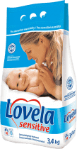 LOVELA Sensitive 3,4kg - środek do prania