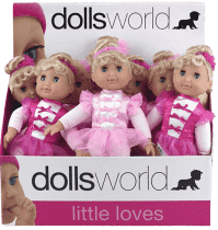 DOLLS WORLD Mała baletnica