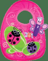 SASSY śliniaczek z motylkiem dla dziewczynki