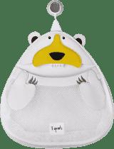 3 SPROUTS Koš na hračky a věci do koupelny Polar Bear