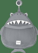 3 SPROUTS Kosz na zabawki i przybory kąpielowe Shark