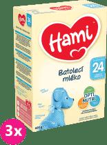 3x HAMI 4 (600g) – dojčenské mlieko