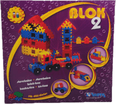 VISTA Klocki Blok 2 – plastik 146 szt.