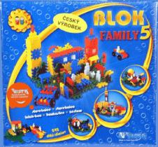 VISTA Stavebnica Blok Family 5 - plast 242ks