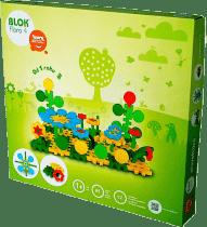 VISTA Stavebnica Blok Flora 4 - plast 85ks