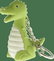 ANSMANN Breloczek do kluczy (dźwięk, światło) Dinozaur – Feedo klub