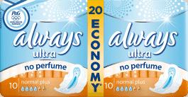 ALWAYS Ultra Normal No Perfume (20szt)