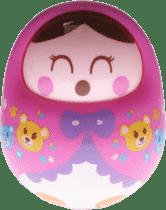 BABY'S HAPPINESS Panenka Rolly Polly - růžová