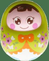 BABY'S HAPPINESS Panenka Rolly Polly - zelená