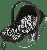 KIDDY Autosedačka evo-lunafix s isofixovou bází 2 – Zebra (0-13kg)