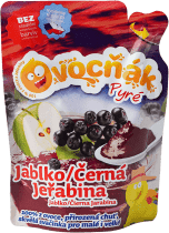 Expirace 2.7.2016: OVOCŇÁK Pyré jablko-jeřabina 200ml – ovocné pyré