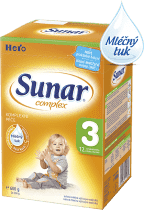 SUNAR Complex 3 (600g) NOVÝ – kojenecké mléko