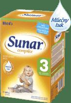 SUNAR Complex 3 (600g) NOVÝ - dojčenské mlieko