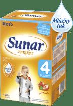 SUNAR Complex 4 JAHODA (600g) NOVÝ - dojčenské mlieko