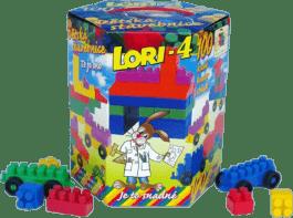 LORI Stavebnica LORI 4 - plast 100ks