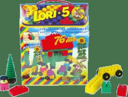 LORI Stavebnica LORI 5 - plast 76ks