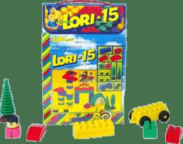 LORI Zestaw klocków LORI 15 ZOO – plastik 62szt