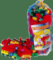 LORI Zestaw klocków LORI 500 dla przedszkoli – plastik