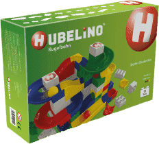HUBELINO Kuličková dráha set s kostkami Starter 85ks