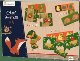 AVENUE MANDARINE Zestaw gier dla dzieci od lat 4