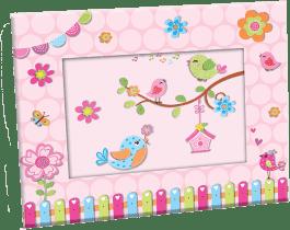 BINO Foto rámček - vtáčiky