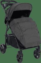PETITE&MARS Pokrowiec na nóżki do wózka Easy - Black Melange