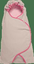 LODGER Zavinovačka Wrapper Motion Fleece - Baby Pink