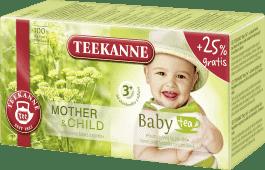TEEKANNE Dětský čaj 3+, 20 sáčků
