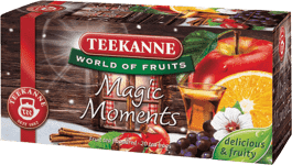 TEEKANNE Čaj Magic Moments s aroma rumu, 20 sáčků