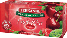 TEEKANNE Herbata Fruit Kiss (wiśnie z truskawkami), 20 torebek