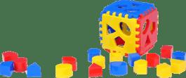 CHEMOPLAST Vkladacia kocka Mimi 1 - plast