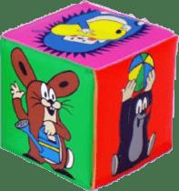 WIKY Pískacie kocka Krtko