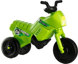 TEDDIES Odrážadlo Enduro Yupee malé zelené