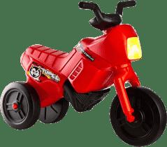 TEDDIES Odrážadlo Enduro Yupee veľké červené