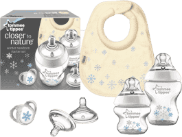 TOMMEE TIPPEE Sada kojeneckých lahviček C2N Snowflake HIT MĚSÍCE