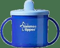 TOMMEE TIPPEE Hrnček dvojuché pre najmenších Basic-modrá