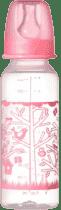 TOMMEE TIPPEE Dojčenská fľaša 2 ks 250ml 3m + Basic-dievča