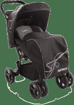 BABYPOINT Sprinter športový kočík čierny