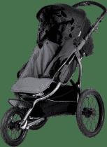 X-LANDER Wózek sportowy X-Run, Carbon Black